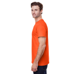 Orange Classic Cotton T as seen from the sleeveright