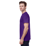 Purple Classic Cotton T as seen from the sleeveright