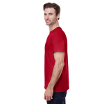 Red Classic Cotton T as seen from the sleeveright