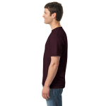 Russet Classic Cotton T as seen from the sleeveright