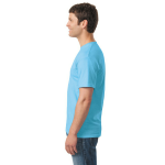 Sky Classic Cotton T as seen from the sleeveright