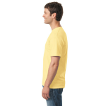 Yellow Haze Classic Cotton T as seen from the sleeveright