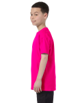 Heliconia Classic Cotton  Youth T as seen from the sleeveright