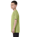 Kiwi Classic Cotton  Youth T as seen from the sleeveright