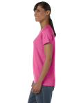Azalea Classic Cotton Ladies' Missy Fit T-Shirt as seen from the sleeveright