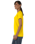 Daisy Classic Cotton Ladies' Missy Fit T-Shirt as seen from the sleeveright