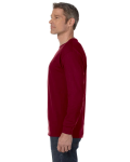 Garnet Classic Cotton Long-Sleeve T as seen from the sleeveright