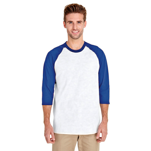 Heavy Cotton 3/4-Sleeve Raglan Baseball