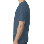 Indigo Blue SoftStyle T as seen from the sleeveright