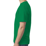 Irish Green SoftStyle T as seen from the sleeveright