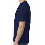 Navy SoftStyle T as seen from the sleeveright