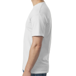 White SoftStyle T as seen from the sleeveright