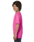 Azalea Youth DryBlend 5.6 oz., 50/50 T-Shirt as seen from the sleeveright