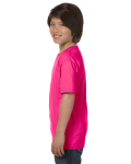 Heliconia Youth DryBlend 5.6 oz., 50/50 T-Shirt as seen from the sleeveright