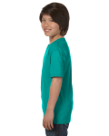 Jade Dome Youth DryBlend 5.6 oz., 50/50 T-Shirt as seen from the sleeveright