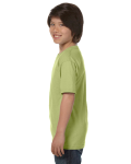 Kiwi Youth DryBlend 5.6 oz., 50/50 T-Shirt as seen from the sleeveright