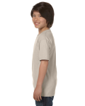 Sand Youth DryBlend 5.6 oz., 50/50 T-Shirt as seen from the sleeveright