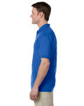 Royal DryBlend™ 6 oz., 50/50 Jersey Polo with Pocket as seen from the sleeveright