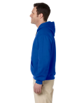Royal Premium Cotton; 9 oz. Ringspun Hooded Sweatshirt as seen from the sleeveright