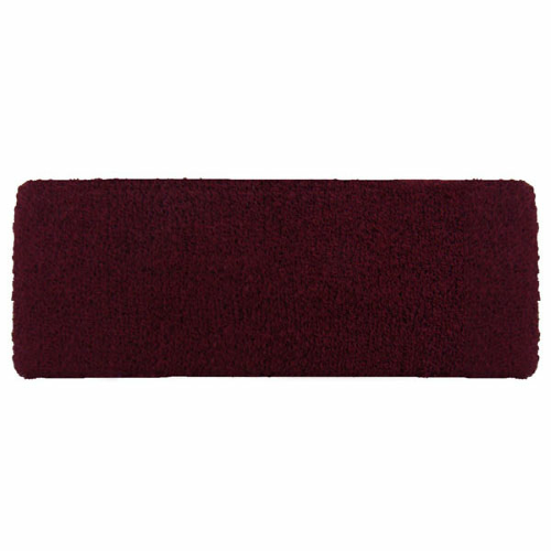 Burgundy Headbands as seen from the front