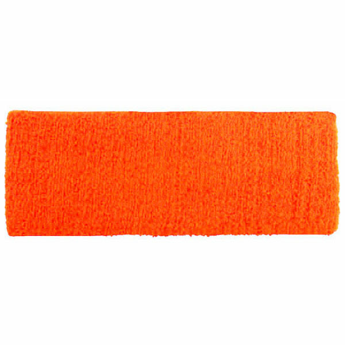 Fluorescent Orange Headbands as seen from the front