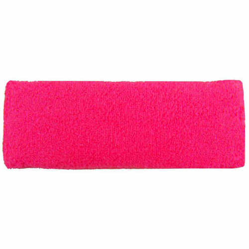 Fluorescent Pink Headbands as seen from the front