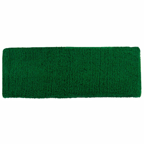 Kelly Green Headbands as seen from the front