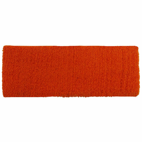 Orange Headbands as seen from the front