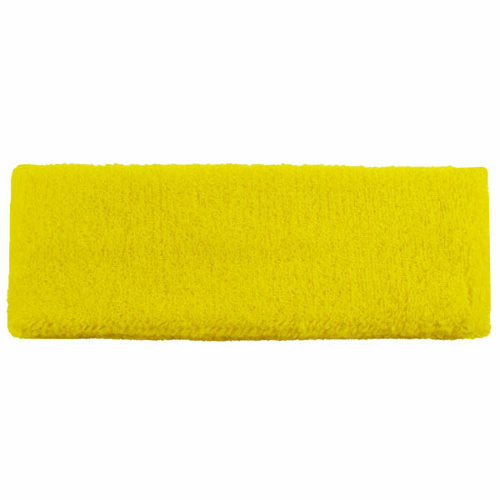 Yellow Headbands as seen from the front