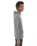 Zinc MADE IN USA Unisex Classic Pullover Hoodie as seen from the sleeveleft