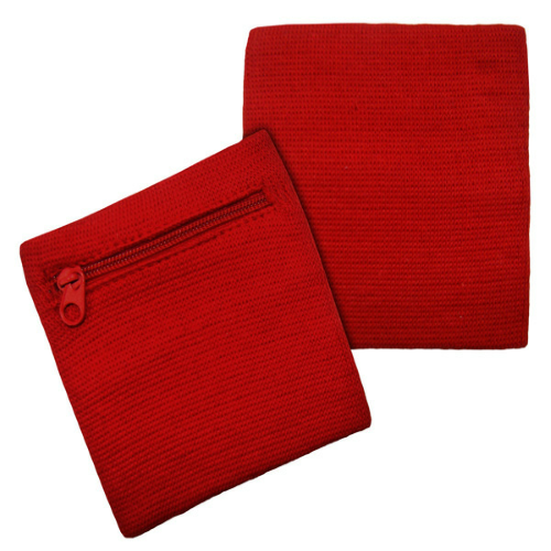 Red Hide-A-Bands as seen from the front