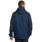 Ins Bl Nvy Ecl Port Authority Ranger 3-in-1 Jacket as seen from the back