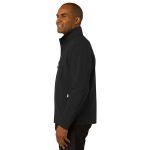 Black Port Authority Core Soft Shell Jacket as seen from the sleeveleft