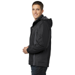 Blk Blk Mag Gy Port Authority Colorblock 3-in-1 Jacket as seen from the sleeveright