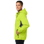 Chg Grn Mag Gy Port Authority Cascade Waterproof Jacket as seen from the sleeveright