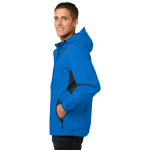 Imperial Bl Bk Port Authority Cascade Waterproof Jacket as seen from the sleeveright