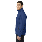 Estate Blue Port Authority Welded Soft Shell Jacket as seen from the sleeveright