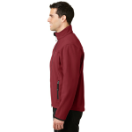 Cald.red Chrom Port Authority Glacier Soft Shell Jacket as seen from the sleeveright