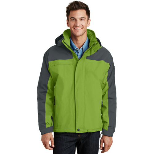 B.pistac Graph Port Authority Nootka Jacket as seen from the front