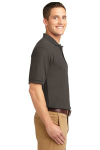 Bark Port Authority Silk Touch Polo as seen from the sleeveright