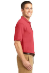 Hibiscus Port Authority Silk Touch Polo as seen from the sleeveright