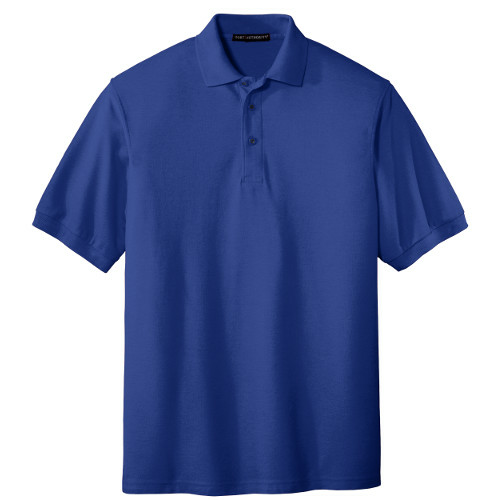 Royal Port Authority Silk Touch Polo as seen from the front