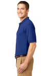 Royal Port Authority Silk Touch Polo as seen from the sleeveleft