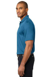 Ocean Blue Port Authority Performance Fine Jacquard Polo as seen from the sleeveleft