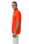 Neon Orange Port Authority Silk Touch Performance Polo as seen from the sleeveleft
