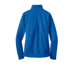 True Royal Port Authority Ladies Value Fleece Jacket as seen from the back