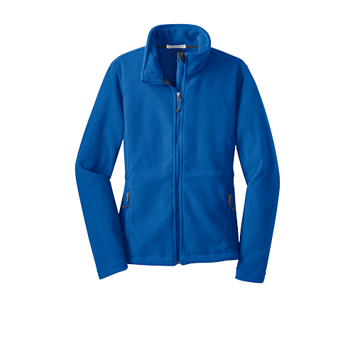 True Royal Port Authority Ladies Value Fleece Jacket as seen from the front