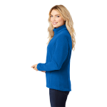 True Royal Port Authority Ladies Value Fleece Jacket as seen from the sleeveright