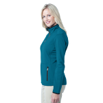Blue Glacier Port Authority Ladies Pique Fleece Jacket as seen from the sleeveright