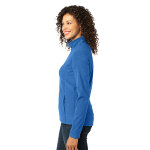 Light Royal Port Authority Ladies Microfleece Jacket as seen from the sleeveright